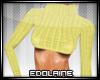 E~ Sexy Sweater Yellow