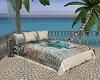 Romantic beach bed