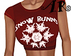 Snowflake Crop Top V5