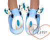 Male Slippers Blue