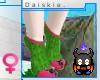 [SKEE] F- Zim Socks