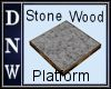 Stone and Wood Platform