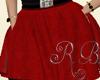 Red Skater Skirt RLS