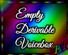 Empty VB Derivable