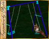 I~Blue Swing Set