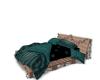 Grn Pallet MultiPose Bed