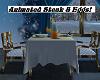 BLUE CHRISTMAS DINING