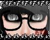 [LA]Black Nerd Glasses