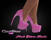 Pink Glam Heels