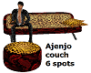 Tiger Couch 6 spots