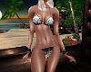 Bikini Black Floral