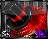Ss::Pvc Red Doll Tophat