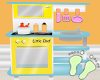 Kids Scaled Play Kitchen