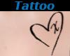 Tattoo Chest X Heart