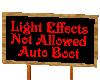 [MJ] No Light Effects