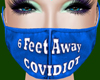 6 FeetAway Covidiot BluF