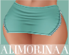 *A* Aqua Skirt RL