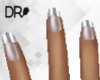 DR- French medium nails