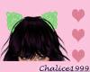 Celery Lace Cat Ears
