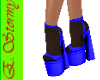 Halloween Blue V2 heels
