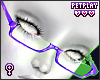 Glasses Purple