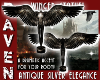 WINGED SILVER STATUE!