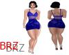 F]blue phoenix dress BRZ