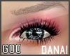{G} Danai Lashes Black