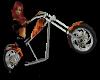 Jill on a bike