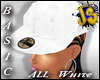 JS All Wht Fitted Cap[a]