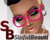 [SB] Nerd Glasses Pink
