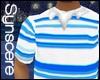 !S! BAGGY POLO BLUE