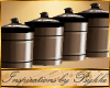 I~Stainless Canister Set