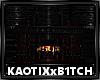 Dark Gothic Fire Place