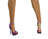 Showgirl Heels in Prple