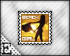 [E] Beach Girl Stamp