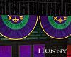 H. Mardi Gras Bunting