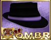 QMBR Fedora Blk & Lvd