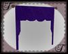 Dk Purple Swag Curtain