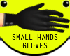 Black Small Hands Gloves