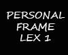 Frame Personal Lex 1