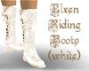 Elven Riding Boots -wht