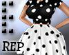 -Ext. Poka Dot Dress REP
