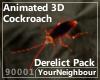 Animated 3D Cockroach