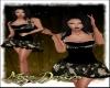 GoldenRose Party Dress