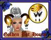 Golden Bat Horns