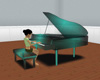 Classic Green piano