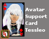 W. Rabbit support card