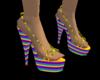 [W]Rainbow Sandals