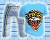 *CA* Blue Tiger Tee